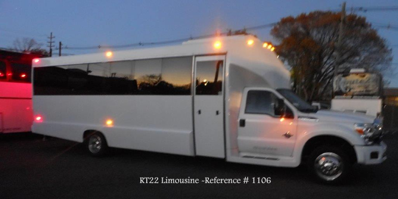 Limousine Mini Coach with bathroom 1106 NJ