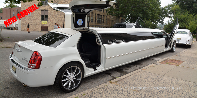Chrysler with Jet Door 311 Jersey & Route 22 Limousine|Exotics Limos NJ NY PA