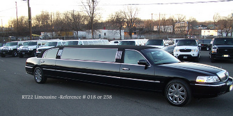 RT22 Limo Lincoln Town Car NJ