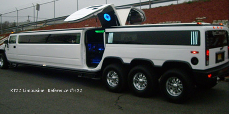RT22 Hummer H2 Triple Axle NJ