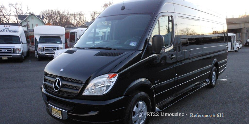 Mercedes Sprinter High Roof 14 Passenger